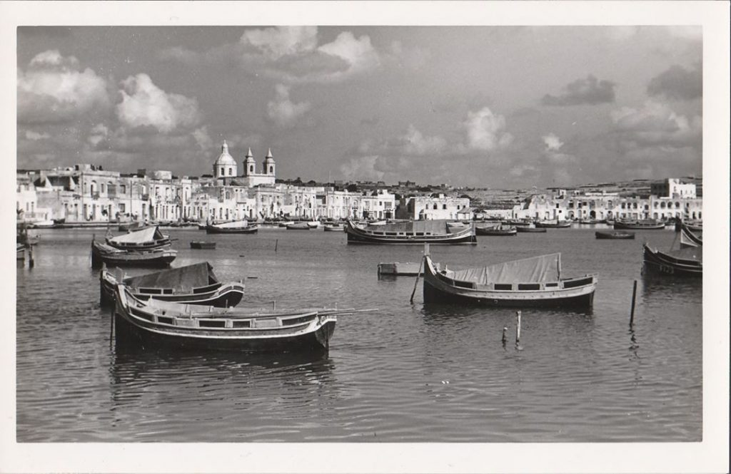 A grand view of Marsaxlokk Harbour