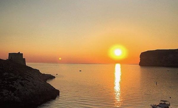 Beautiful gozo sunset by Stef Tanti